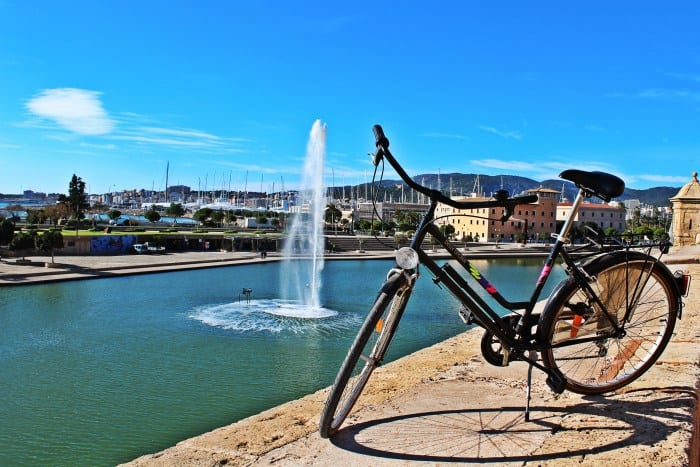 Bicycle rental in Palma de Mallorca call&ride